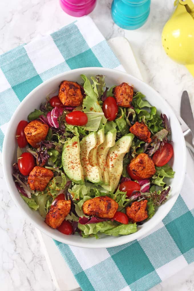 Smoked Paprika Chicken Salad.