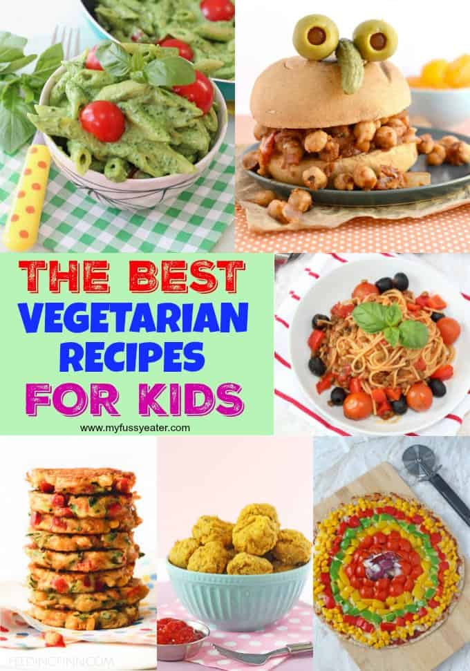 the best vegetarian recipes for kids