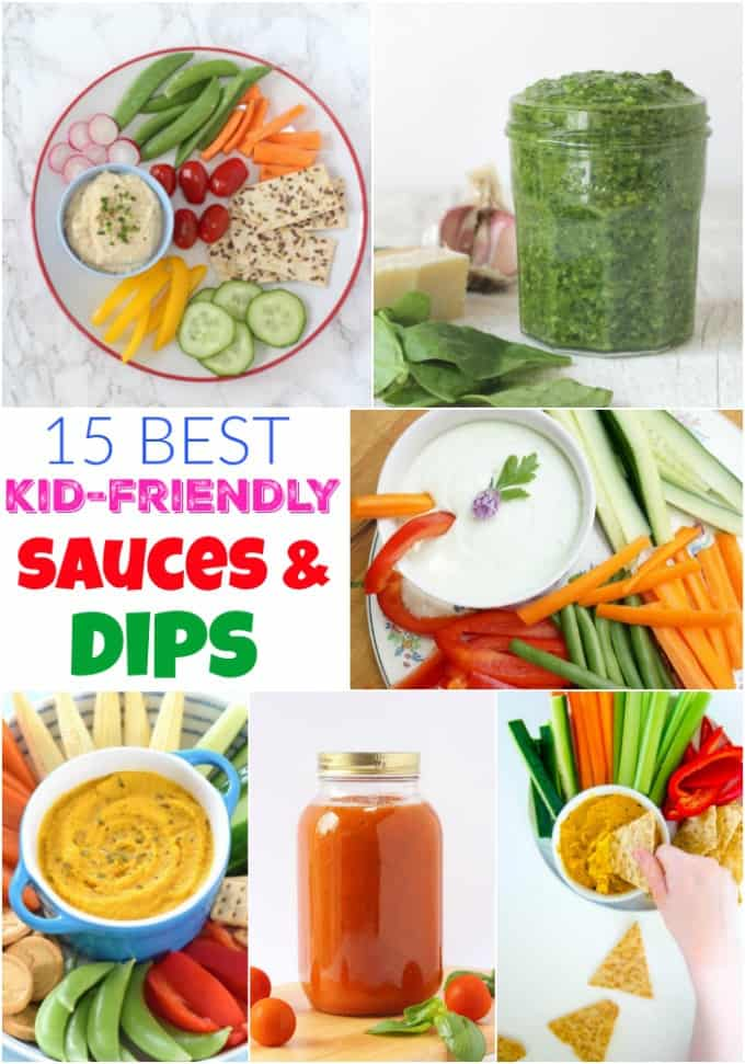 15 of the best kid-friendly Sauces & Dips!