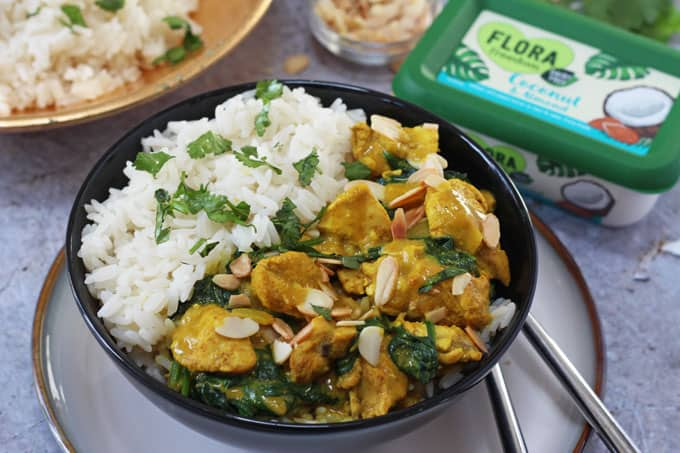 Coconut & Almond Chicken Curry - My Fussy Eater | Healthy ...