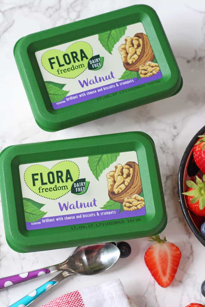 Flora Freedom Dairy Free Walnut Spread