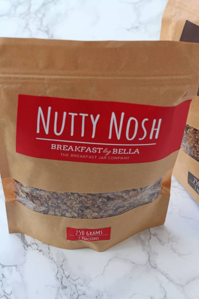 Breakfast By Bella Nutty Nosh Granola