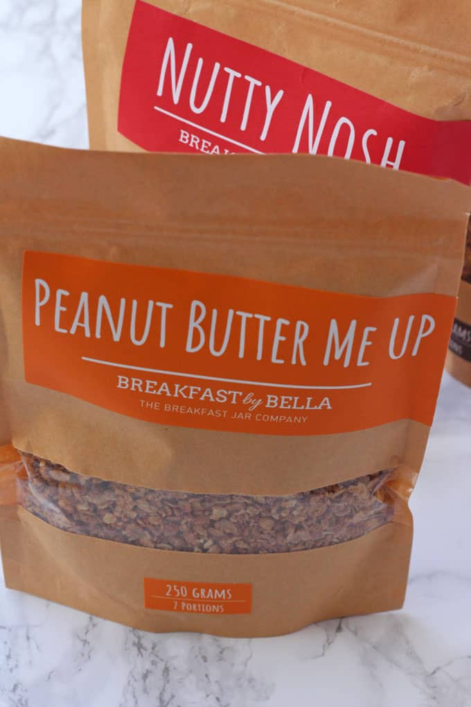 Breakfast by Bella Peanut Butter Me Up Granola