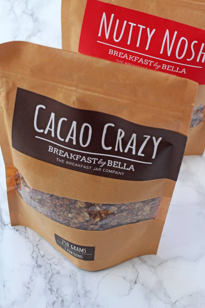 Breakfast By Bella Cacao Crazy Granola