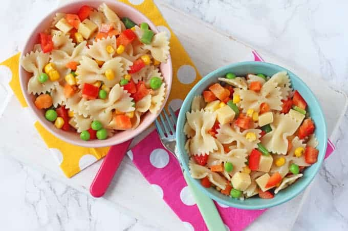Easy Pasta Salad for Kids - My Fussy Eater | Easy Kids Recipes