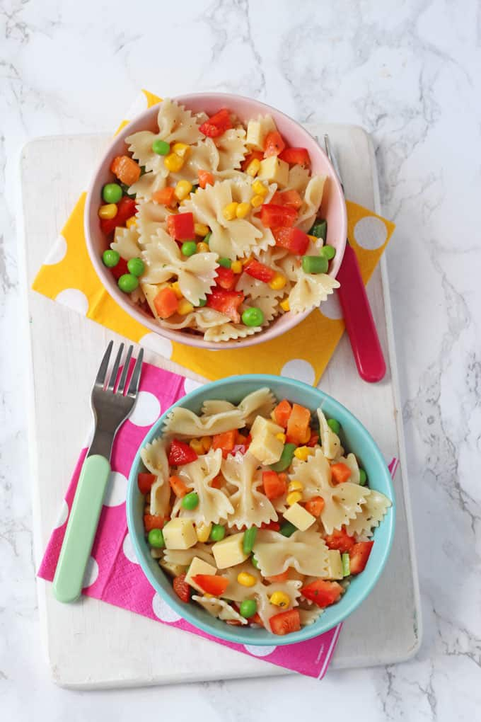 Easy Pasta Salad For Kids My Fussy Eater Easy Kids Recipes