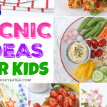 25 Easy & Healthy Picnic Food Ideas for Kids!