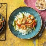 Hello Fresh Sri Lankan Prawn Stir Fry