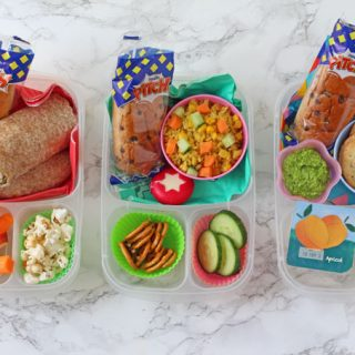 Three delicious and easy packed lunches for both adults and kids alike with Brioche Pasquier Pitch