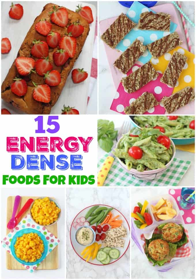 Healthy energy dense foods for kids my fussy eater healthy 15 energy dense recipes for kids forumfinder Images