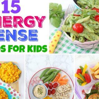 Healthy Energy Dense Foods for Kids!