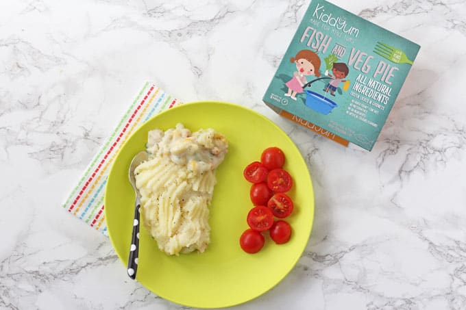 Delicious frozen meals for little people from Kiddyum