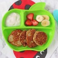 Baby Weaning Pancakes - 3 Ingredients