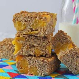 Peach Quinoa Breakfast Bars