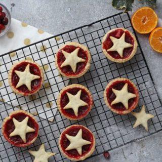 Cranberry & Orange Pies