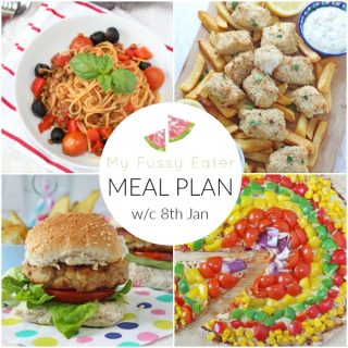 Family Meal Plan w/c 8th January 2018