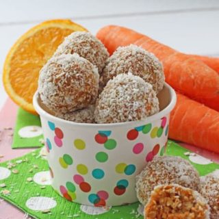 Miss Rabbit's Carrot Cake Energy Bites