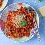 A quick, easy but super delicious recipe for Sausage Meat Ragu. This simple meal has fast favourite in my family and I think you will love it too!