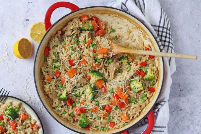 Leftover Roast Chicken Risotto My Fussy Eater Easy Kids Recipes
