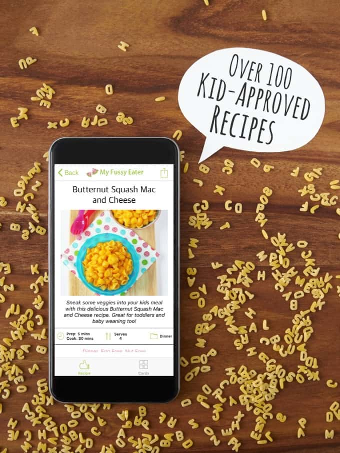 My Fussy Eater Recipe App