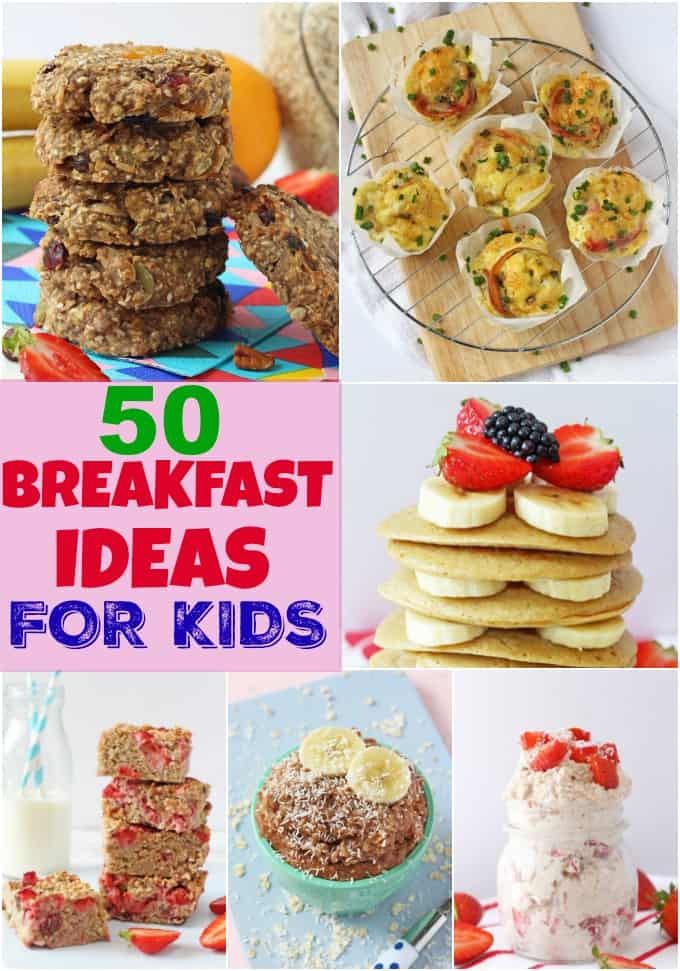 50 Breakfast Ideas For Kids My Fussy Eater Easy Kids