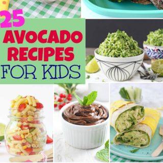 25 Avocado Recipes for Kids!