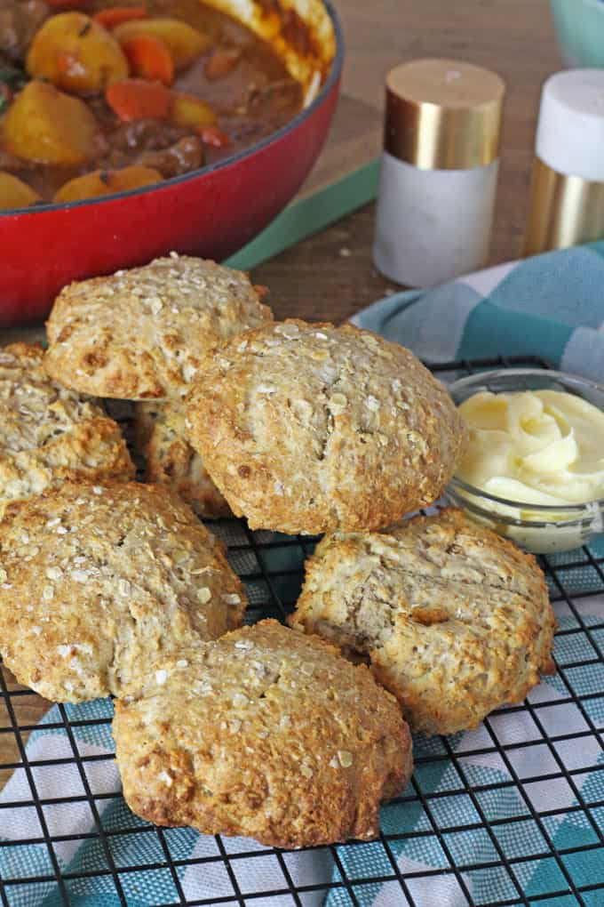 Delicious and easy to make Irish Soda Bread Scones