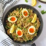 A quick and easy Mackerel Kedgeree recipe made with Princes Mackerel