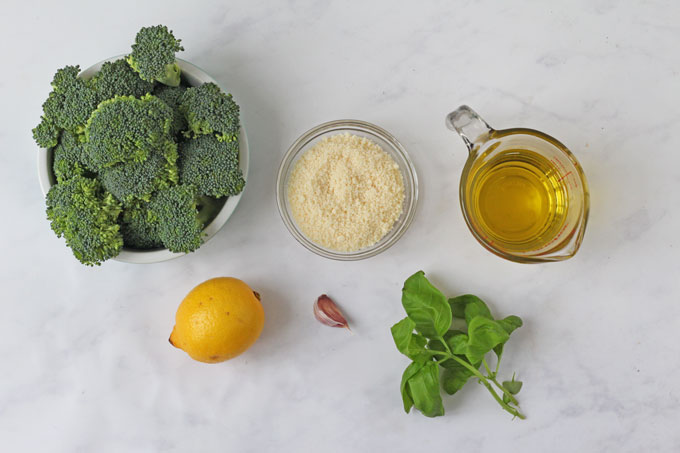 broccoli pesto pasta ingredients