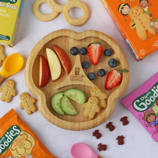 Organix - ingredients in kids snacks