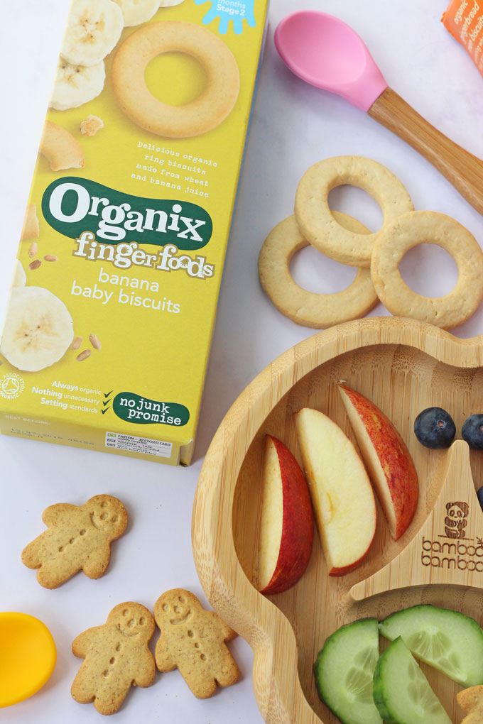 Organix - ingredients in kids snacks