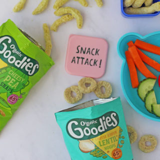 Organix healthy snacks for kids