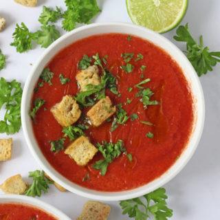 Instant Gazpacho Soup