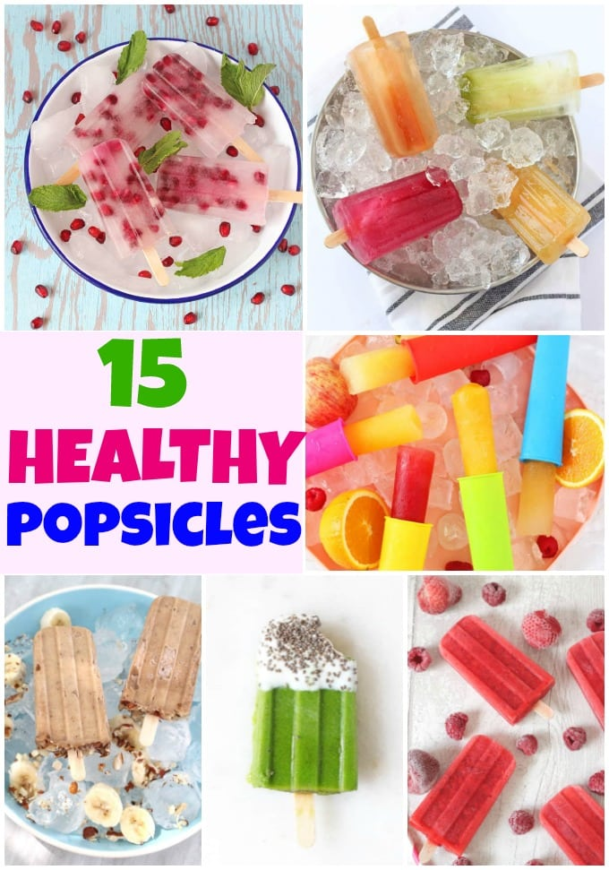 Roundup of healthy popsicle recipes