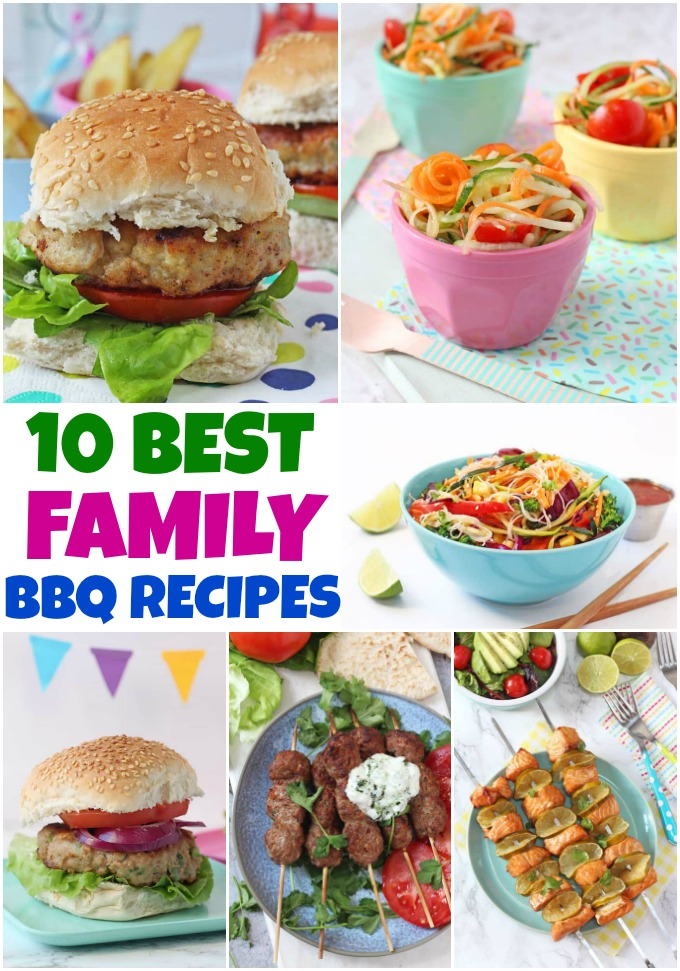 Roundup of the best Family Friendly BBQ Recipes