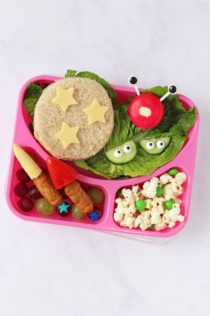 Alien and Space Inspired Lunch box for kids