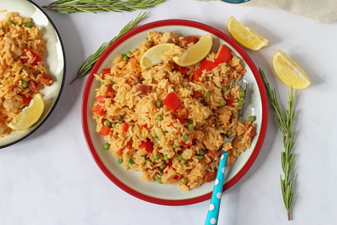 Healthy recipes fun food ideas for picky kids families my fussy paella in a bag bakewell forumfinder Gallery