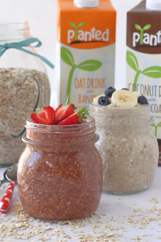 two ingredient overnight oats