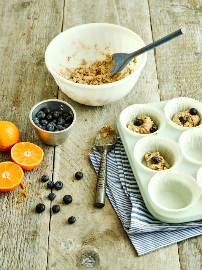 Ingredients for Fruity Breakfast Muffins