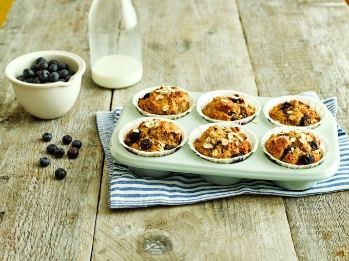 Fruity Breakfast Muffins