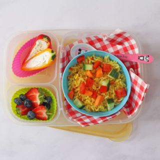 Vegetable Rice Salad – Lunchbox Idea