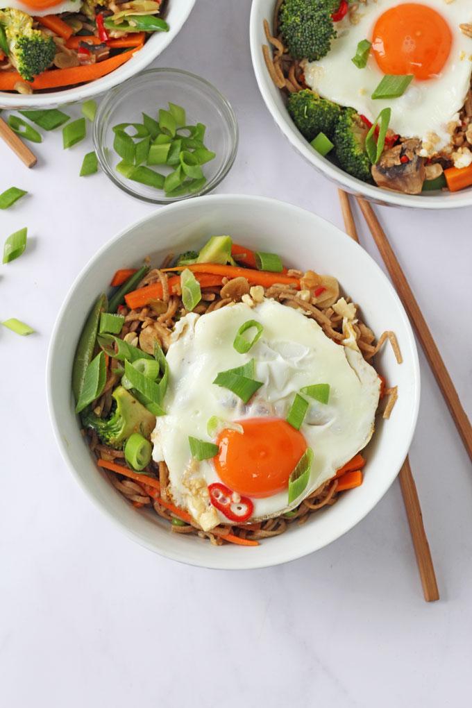 Veggie Noodle Stir Fry Tesco and Jamie Oliver