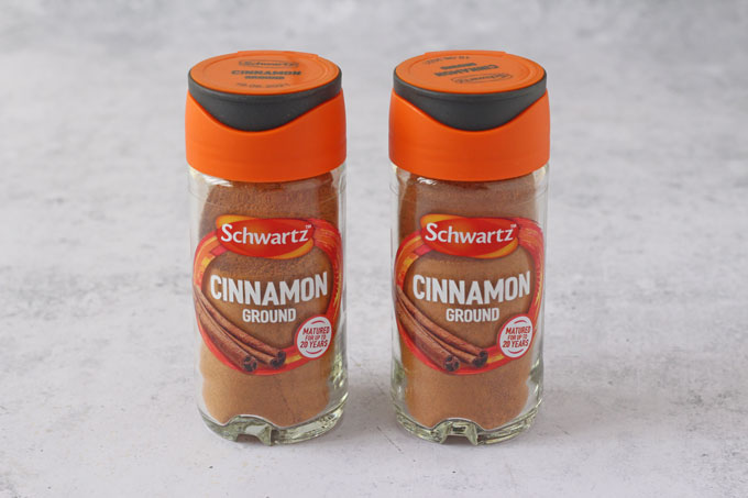 Schwartz Ground Cinnamon Jars