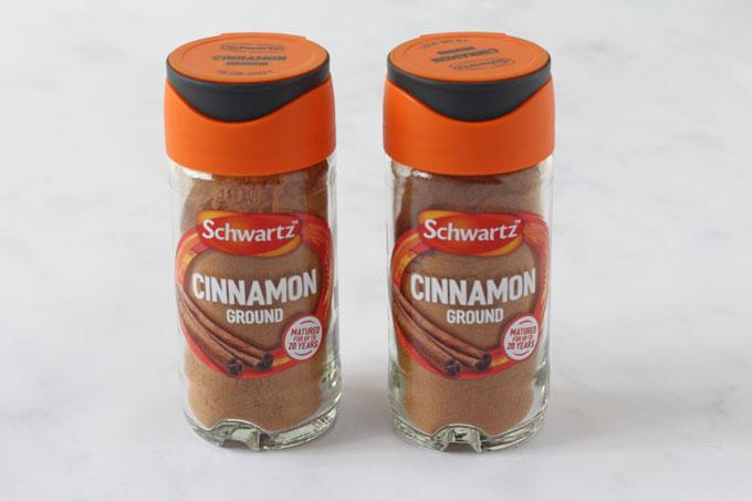 Schwartz Ground Cinnamon Jars