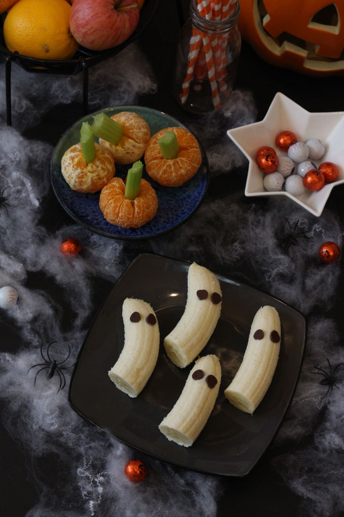 Halloween Clementines and Bananas