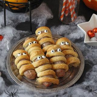 Sausage Mummies – Halloween Food for Kids