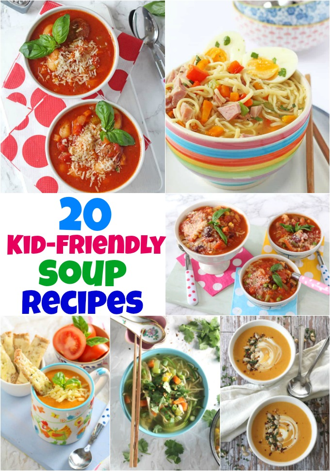 20 delicious winter warming soup recipes that kids will love!