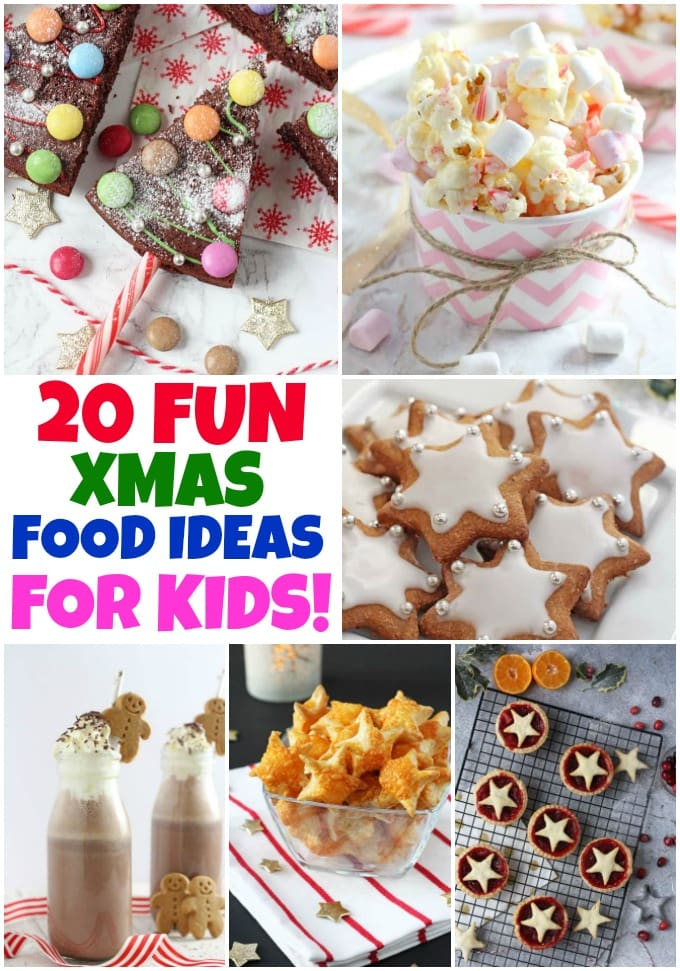 Fun Food Ideas To Make With The Kids This Christmas!