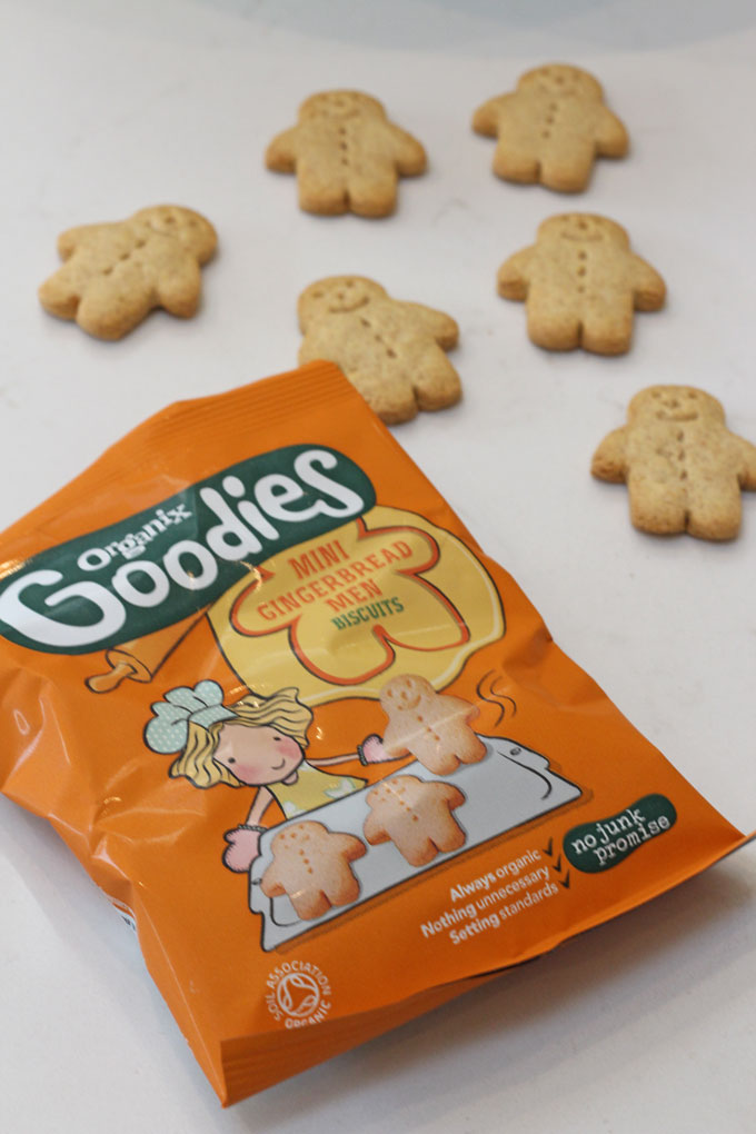 Organix Mini Gingerbread Men