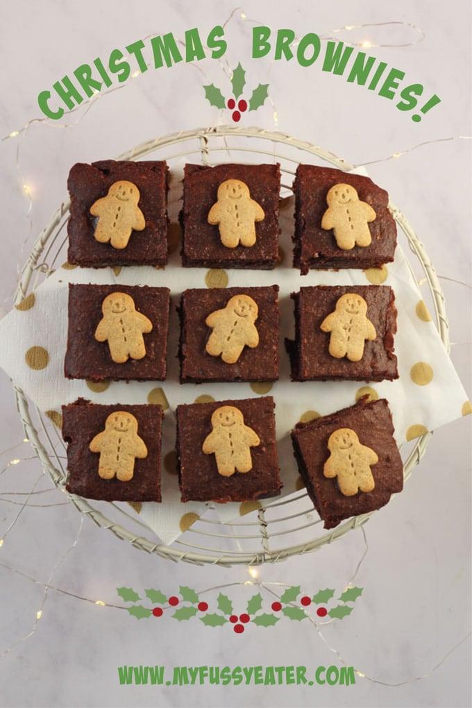 gingerbread brownies pinterest pin